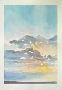 Canada Book 1 Light - Watercolour on Paper - 19x28.5cm - 2015