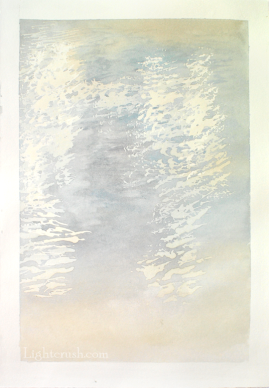 Northern Water 4 - Watercolour on Paper - 29x28.5cm - 2015