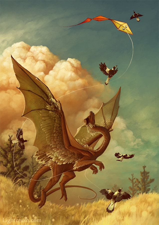 Kite - Photoshop CS4 - 2009
