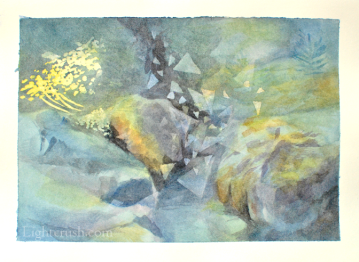 Postcard 3 - Watercolour on paper - 19x14cm - 2015