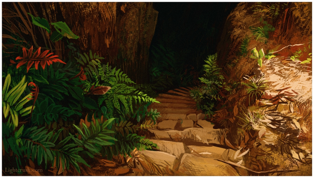 EnviroStudy StairsDown